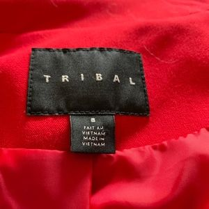Tribal Jackets & Coats - Tribal Red Medium Weight Jacket